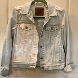 RARE two toned Levi's jean jacket